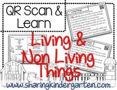 Do you need to integrate technology into your classroom but you don't have the time to put together the activity? Do you want to integrate Social Studies, Math, and ELA?Try this QR Scan & Learn activity all about living and non living things**There is a  qr codes to scan and try in the preview.
