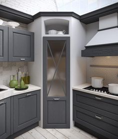✔ 44 best small kitchen design ideas for your tiny space 17 - Kitchen Pantry Cabinets Kitchen Pantry Design, Home Decor Kitchen, Kitchen Interior, Kitchen Storage, Kitchen Organization, Kitchen Small, Cabinet Storage, Kitchen Hacks, Minimal Kitchen