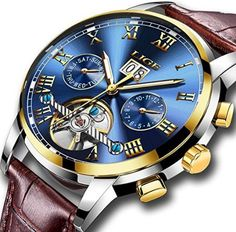 44353f8f8d4 ... automatic Suppliers: relogio masculino LIGE Mens Watches Top Brand  Luxury Fashion Business Automatic Watch Men Full Steel Waterproof Clock  Wristwatch