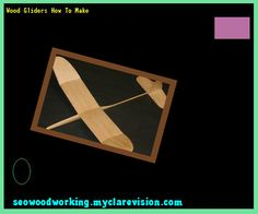 Wood Gliders How To Make 172314 - Woodworking Plans and Projects!