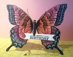 Happy Birthday new Swallowtail Stampin' Up