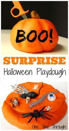 Surprise Halloween Playdough