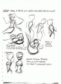 I'm not sure if these next few are actually Glen Keane or other Disney Artists Disney Art Style, Disney Concept Art, Learn Animation, Disney Animation, Disney Pixar, Disney Sketches, Disney Drawings, Character Design Animation, Character Drawing
