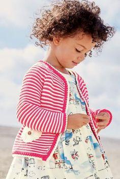 acdcec95ac6b6 Acheter Cardigan à rayures framboise (3 mois - 6 ans) disponible en ligne  dès