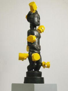 Africa ~ Brett Murray South African Artists, Public Art, Street Art, Urban, Sculpture, Contemporary, Space, Big, Design