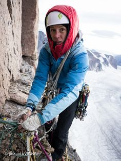 BD athlete Ines Papert reports on major first ascent on Mount Asgard in Baffin Island