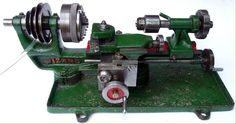 Wizard Micro Lathe - English made small lathe for amateur use.Lane & Son of dairy lane, Houghton-le-Spring County Durham Micro Lathe, Small Lathe, Metal Lathe For Sale, Wood Turning Lathe, Industrial Machine, Machine Tools, Metalworking, Budget Meals, Body Painting