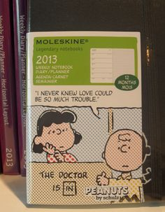 #Snoopy #Peanuts A notebook I noticed at the Eye museum, Amsterdam.