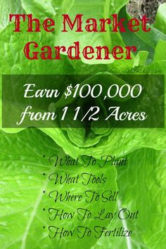 Market Gardener How to Make Money on your Homestead. There are many ways to make a homestead work. Here is one that is outstanding!How to Make Money on your Homestead. There are many ways to make a homestead work. Here is one that is outstanding! Homestead Farm, Homestead Gardens, Homestead Survival, Farm Gardens, Survival Skills, Homestead Living, Homestead Layout, Veggie Gardens, Outdoor Gardens
