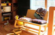 Ehon Reading Rocker by actus-interior #Chair #Rocking_Chair