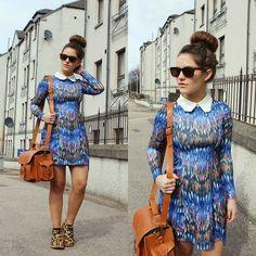 Grafea Camera Bag, She Inside Dress, Glass Boutique Boots