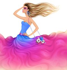 How to Create a Colorful Fashion Illustration in Adobe Illustrator