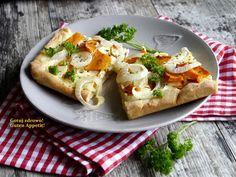Gotuj zdrowo!Guten Appetit!: Placek z dynią i cebulą - szybki i łatwy