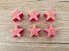 Wax Melt Stars Wax Melt Cubes Soy Scented Wax by Halliescents