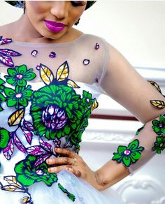 Ankara Bridal Dresses and Wedding Gowns for You