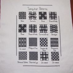 Sanquhar Patterns sampler all done. Just need to get it framed now. Color Patterns, Stitch Patterns, Knitting Patterns, Fair Isle Pattern, Charts And Graphs, Mittens Pattern, Knitting Charts, Knitted Gloves, Knit Crochet
