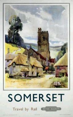 Somerset - Travel by Rail - British Railways.