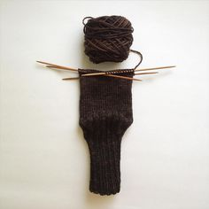 https://flic.kr/p/wbLajg | 197/365: Work in progress: hand dyed wool socks. There is not much gradient here, but the color does transition from black to dark brown. #knits #knitting #knittingprocess #workinprogress #sock #yarn #poemsaboutmeshop #poemsaboutmeknits #etsy