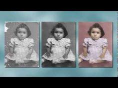 Restauración de fotos - PhotoShop (Parte 1) - YouTube
