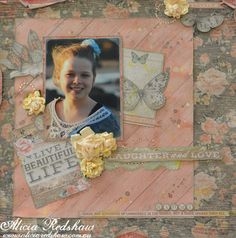 Rustic Charm Layout by Alicia Redshaw