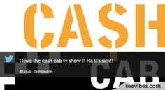 November 26th, 2012: Did you watch Cash Cab? Louis Tomlinson from One Direction sure did, 2522 followers retweet his post! #Seevibes #Twitter #CashCab #Discovery