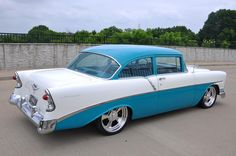 1956 chevy delray | 1956 Chevrolet 210 Del Ray Club Coupe sold!!! -