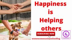 Happiness Is Helping Others - YouTube Helping Hands, Helping Others, Online Blog, Privacy Policy, Parenting, Happiness, Community, Happy, Youtube