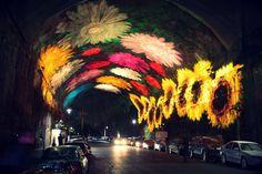 Downtown Sydney Transformed by Light for 'Vivid Sydney'