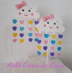 Mais um topo no tema Chuva de Amor!! #chuvadeamor #festachuvadeamor #ateliecoisasdarayra