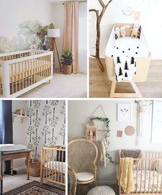 Natural baby room ideas best nursery on bohemian neutral . Baby Bedroom, Nursery Room, Girl Nursery, Kids Bedroom, Nursery Decor, Themed Nursery, Boho Nursery, Nursery Themes, Nursery Ideas