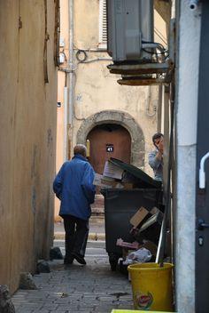 Steegje in Saint Tropez.