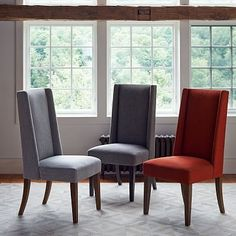 Willoughby Dining Chair - We have two,  Will re-cover and use at the ends of the dining table.