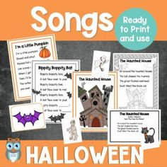Includes a variety of themed songs, rhyming, alliteration, and syllable counting activities perfect for small group lessons and literacy centers. Grab this easy to prep set of early literacy Halloween themed printables for preschool, prek, and kindergarten students. lessons, and games can be used the entire month of October with the differentiated materials to meet the needs of all your early childhood learners.Great addition to a Halloween theme or fall theme.i