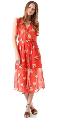 (Limited Supply) Click Image Above: Joie Lunaria Midi Dress