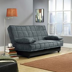 Purchase The Sauder Studio Edge Lincoln Convertible Sofa Futon With Storage At An Always Low Price