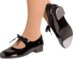 tap shoes. Yes I learned to tap dance. It was fun and I still remember some of the steps.
