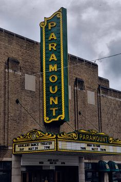 Paramount ~ Ashland, Kentucky. Words cannot describe the inside of this theatre. It's a hidden gem!