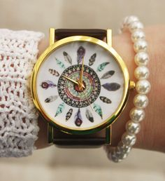 Indian-Vintage-Style-Girl-Wristwatch-Peacock-Woman-Watch