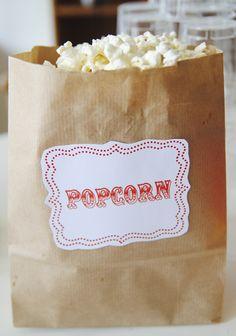 Mamamekko: DIY inspiration Circus popcorn