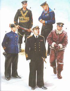 Soviet Naval Uniforms