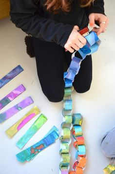 Paper Chain from Rec