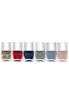 Free shipping and returns on nails inc. London 'Alexa Edit' Collection ($88 Value) at Nordstrom.com. Alexa Chung—everyone's favorite fashionista and the face of nails inc.—has curated this limited-edition collection of six fashion-inspired polishes. These stunning, multidimensional hues, each hand-picked by Alexa herself, make a stylish gift this holiday season.<br><br>Shades includes:<br>- Alexa Stars: a clear top coat twinkling with a blend of silver and gold stars that makes your manicure…