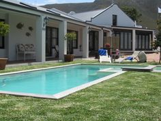 Sixteen Guest Lodge on Main a luxury accommodation B&B in Hermanus with swimming pool and within 5 minute walk of the town centre and the Walker Bay seafront. Luxury Accommodation, Whale Watching, Bed And Breakfast, South Africa, Maine, Swimming Pools, Blue Flag, Country, Beach