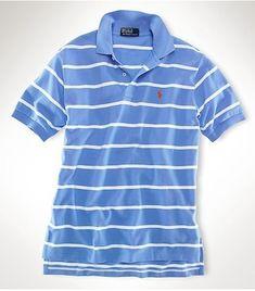 Men\u0026#39;s Ralph Lauren Polo Classic-Fit Striped In Light Blue,#polo shirts,