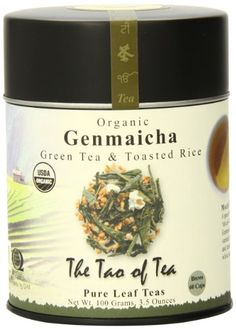 The Tao of Tea, Genmaicha Green Tea And Toasted Rice, Loose Leaf, 3.5 Ounce Tin * More info could be found at the image url.