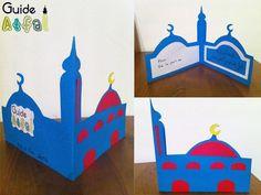 Eid decoration, eid mubarak, eid party city, why is eid celebrated, eid today Eid Crafts, Ramadan Crafts, Ramadan Decorations, Diy And Crafts, Crafts For Kids, Paper Crafts, Diy Eid Cards, Kids Cards, Happy Birthday Hand Lettering