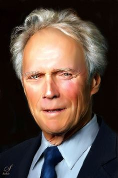 Clint Eastwood by shahin