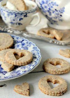 Hazelnut Sandies recipe by Cherry Tea Cakes
