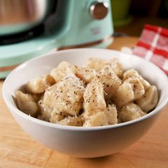 Homemade potato gnocchi is surprisingly easy to make and the dough is a dream to work with. Full recipe at Delish.com. Lunch Recipes, Fall Recipes, Easy Dinner Recipes, Mexican Food Recipes, Vegetarian Recipes, Easy Healthy Dinners, Easy Snacks, Healthy Snacks, Easy Chicken Recipes