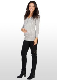 Maternity Skinny Jeans, Casual Maternity, Maternity Fashion, Skinny Legs, Blouse, Shopping, Eve, Tops, Women